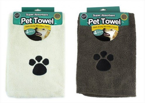 Super Soft Super Absorbent Quick Drying Microfiber Pet Towel 100cm x 65cm