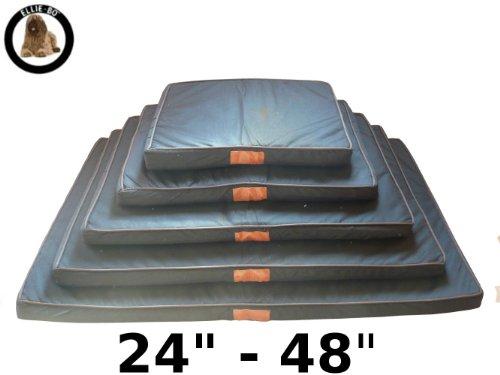 Ellie Bo Black Waterproof Memory Foam Orthopaedic Dog Bed