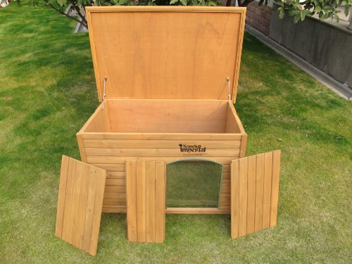 Kennels Imperial Extra Large Insulated Wooden Norfolk Dog