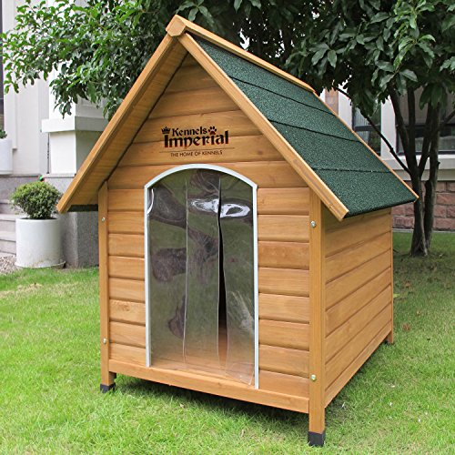 kennels imperial extra large wooden sussex dog kennel with removable floor for easy cleaning