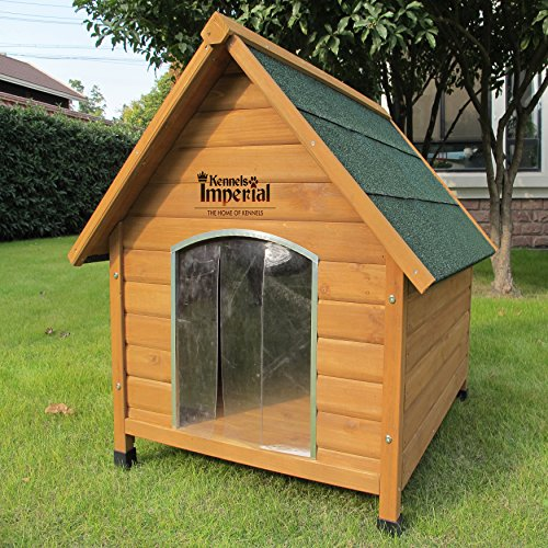 Kennels Imperial Medium Wooden Sussex Dog Kennel With Removable Floor For Easy Cleaning B