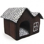 SKL-Luxury-High-end-Cow-Style-Pet-House-Coffee-Brown-Dog-Room-Cat-Bed-MediumDouble-Top-0-300x300