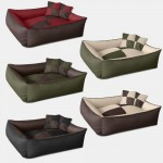 BedDog MAX QUATTRO Bed for a dog L till XXL , 5 colours to choose, pillow for a dog, sofa for a dog, basket for a dog