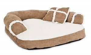 Dog Sofa Bed with Bonus Pillow