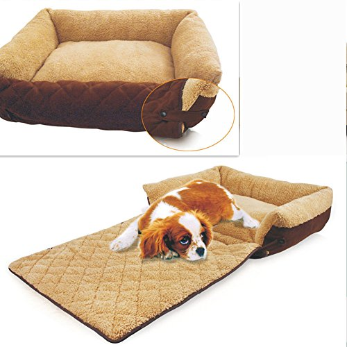 Lovely Dog/Cat Bed Soft Warm Pet Beds Cushion Sofa Couch Mat Kennel Pad Washable Nest