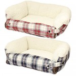 Me & My Dog/Cat Fold Out Bed with Sofa Protector - Available in Red or Blue - Small/Medium/Large