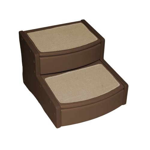 Pet Gear Easy Steps II Extra Wide, Small, Chocolate Brown