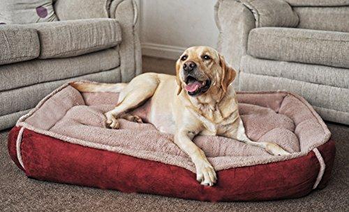 Luxury Fleece Cradle Dog Bed Size Extra Large