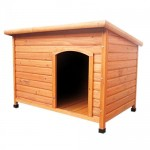 Oypla-Wooden-Outdoor-LXL-Large-Dog-Kennel-House-Animal-Shelter-0