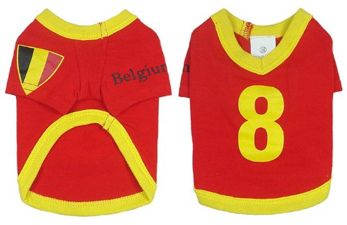 Belgium Dog Football T-Shirt - 6 Sizes