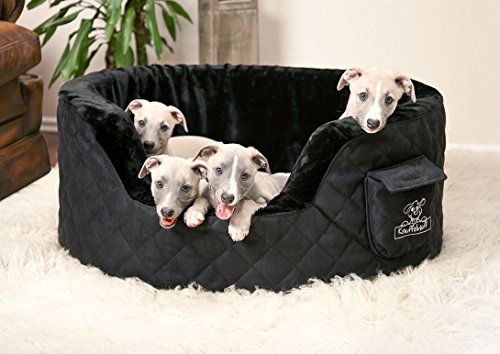 Dog bed made of 5cm foam - Henry Brown, Grey, Black, Beige