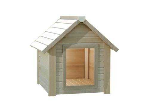 Bunk House Style Eco Kennel. Better than wood, better than plastic, the best of both.