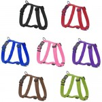 Bunty-Adjustable-Nylon-Dog-Puppy-Fabric-Harness-Vest-Anti-Non-Pull-Lead-Leash-0