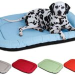 Knuffelwuff In- and Outdoor Dog Bed Size L, XL, XXL Waterproof Lucky Summer Edition