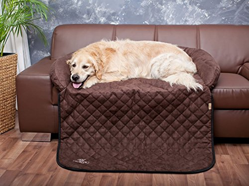Knuffelwuff Sofa Protection And Dog Mat S To XXL   Black Or Brown