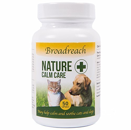 Pet Calming Tablets for Dogs and Cats - All Natural Ingredients - Advanced Vet Formula - 50 Tabs