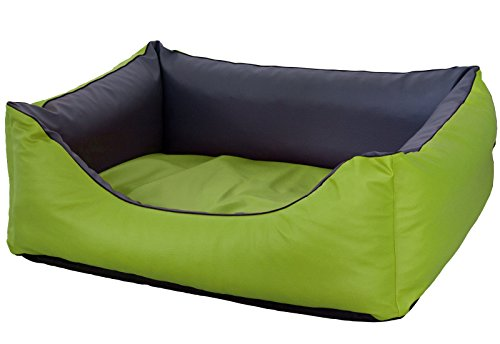 CopcoPet Rocco Dog Bed Made of Faux Leather