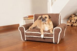 Dog Sofa Ultra Plush Dugg Club Chair Dog Bed