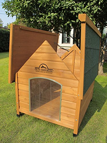 Pets Imperial 174 Medium Wooden Sussex Dog Kennel With