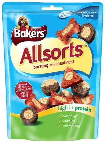 Bakers Allsorts 140 g (Pack of 6)