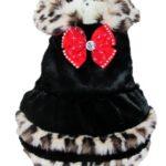 Evergreens Soft Luxury Pet Dogs Winter Vest Coat 2013 New Clothes (XL, Black)