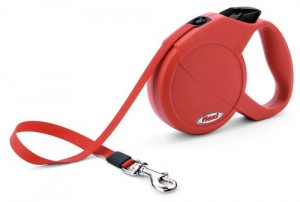 Flexi Lead Clasic Comfort for Dog, Medium, Red