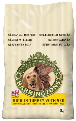 Harringtons Complete Turkey and Vegetables Dry Mix 15 kg