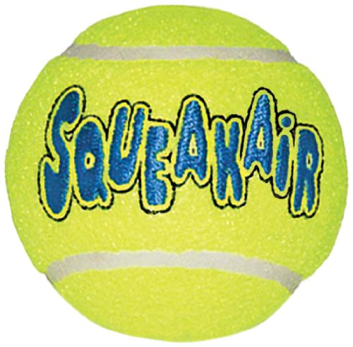 Kong Air Squeakair Ball, Medium, Pack of 3