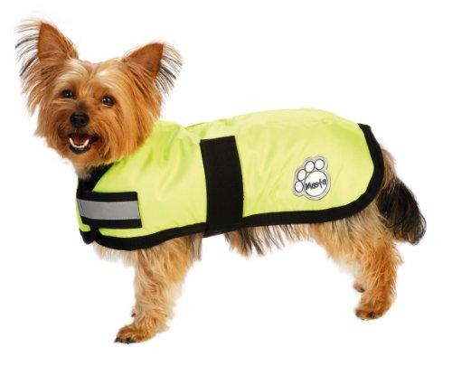 Masta Waterproof Dog Coat - Yellow, 16 Inch