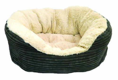 Rosewood Jumbo Cord/ Plush Dog Bed