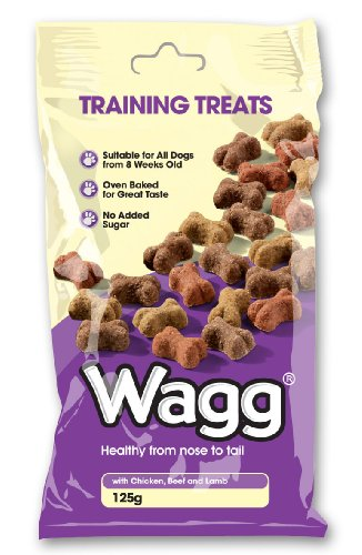 Wagg Training Treats 125 g (Pack of 7)
