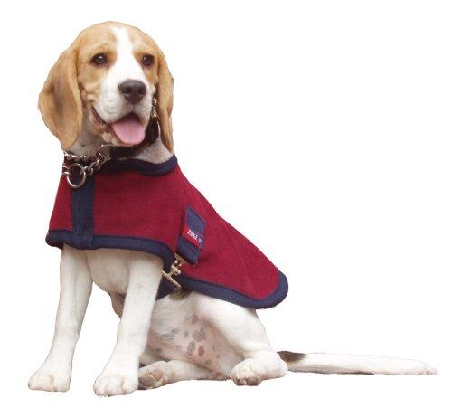 Comfort Zone Lapel Dog Coat Dog Rug - Port, Medium