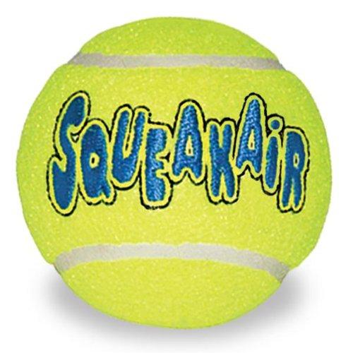 Kong Air Dog Squeaker Tennis Balls Large 2pk