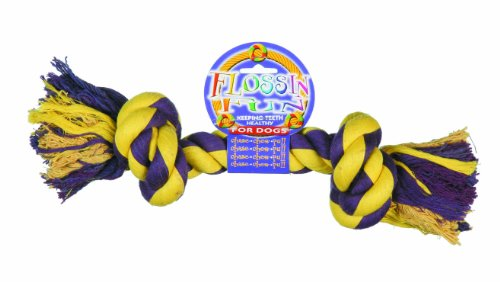 Happy Pet Flossin Fun 2 Knot Rope Toy For Dogs, Extra Large