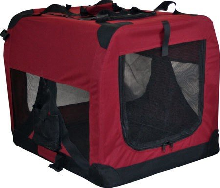 Pet Dog Cat Fabric Soft Portable Crate Kennel Cage Carrier