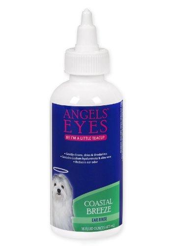 Angels' Eyes Dog & Cat Ear Rinse 4Oz-Coastal Breeze