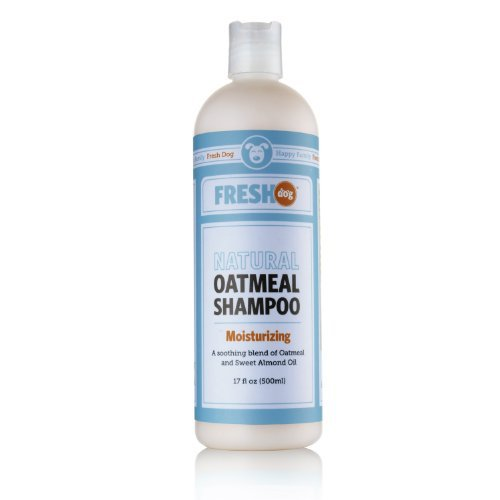 Fresh Dog Natural Oatmeal Shampoo for Dry Skin & Coat, 17 oz / 500 ml