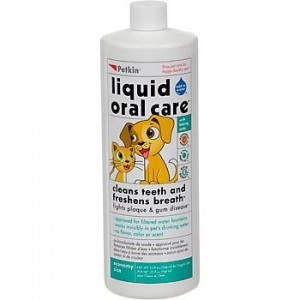 Petkin invisible formula Liquid Oral Care Teeth, Dental Gums Fresh Brath Dogs and Cats