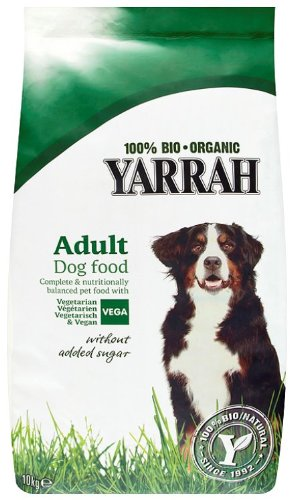 Yarrah Organic Vegetarian Dog Food 10 Kg