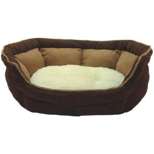 Me & My Luxury Soft Fleece Dog Bed - Small