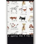 Cooksmart Dogs Premium Tea Towels, 3 Pack