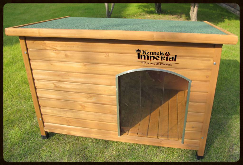 kennels imperial extra large insulated wooden norfolk dog kennel with removable floor for easy cleaning