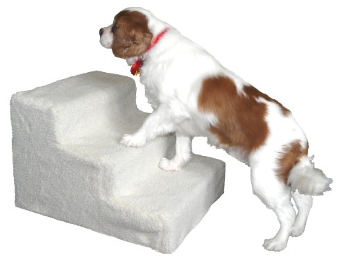 Good Ideas Deluxe Doggy Steps (709) Pet Stairs ideal for older or smaller dogs.