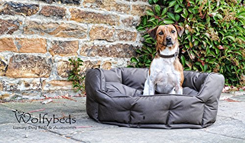 Wolfybeds Waterproof Luxury Round Dog Bed