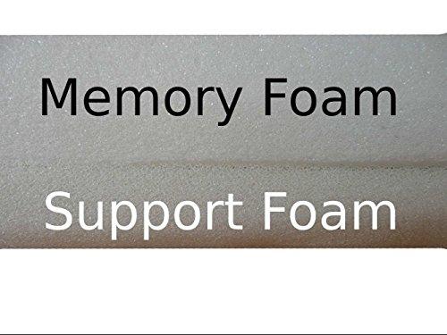 Ellie-Bo Waterproof Memory Foam Orthopaedic Dog Bed for Cage/Crate, Medium, 30-Inch, Brown