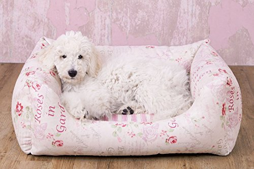 Knuffelwuff Vintage Dog bed Emilia - Shabby Chic - Size M to 3XL - Ladies or Gentlemen
