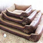 AcornPets B6 Super Warm Soft Luxury Large Dog Bed Pillow Puppy Cat Pet Comfy Fur Fleece