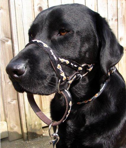 Dogmatic Headcollar Padded Cushioned Webbing Pcw Black