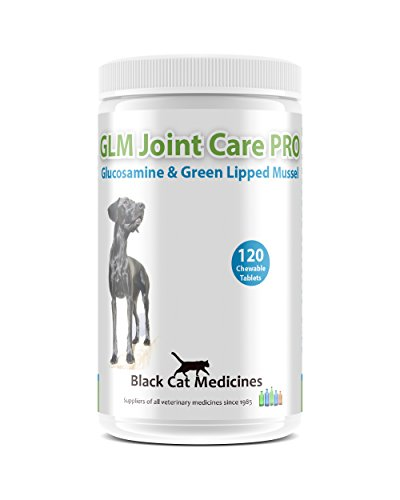 GLM Joint Care PRO for Dogs - 120 Chewable Tablets (Glucosamine and Green Lipped Mussel)